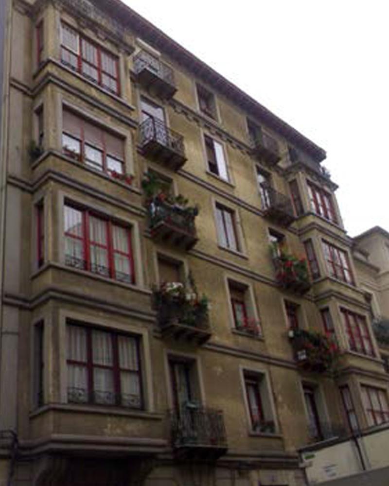 Rehabilitaci n de fachada tradicional bilbao for Fachada tradicional