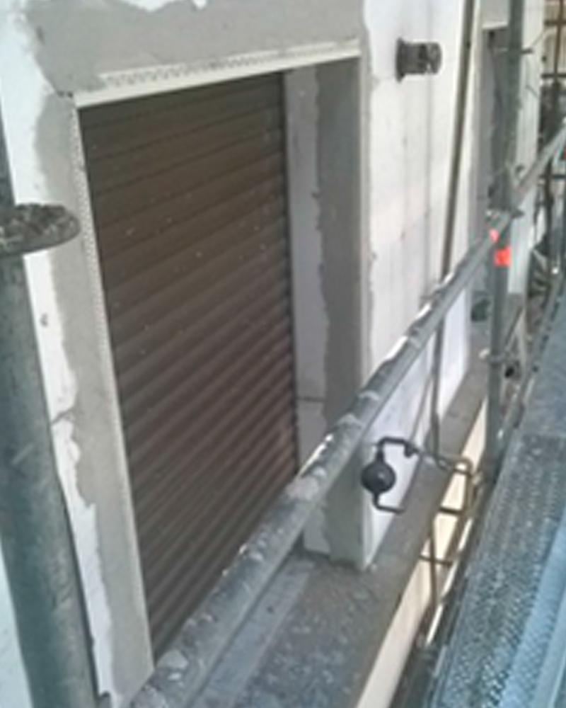 Rehabilitación de fachada y patio con SATE | Bilbao